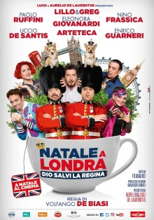Natale a Londra - Dio salvi la Regina (2016)